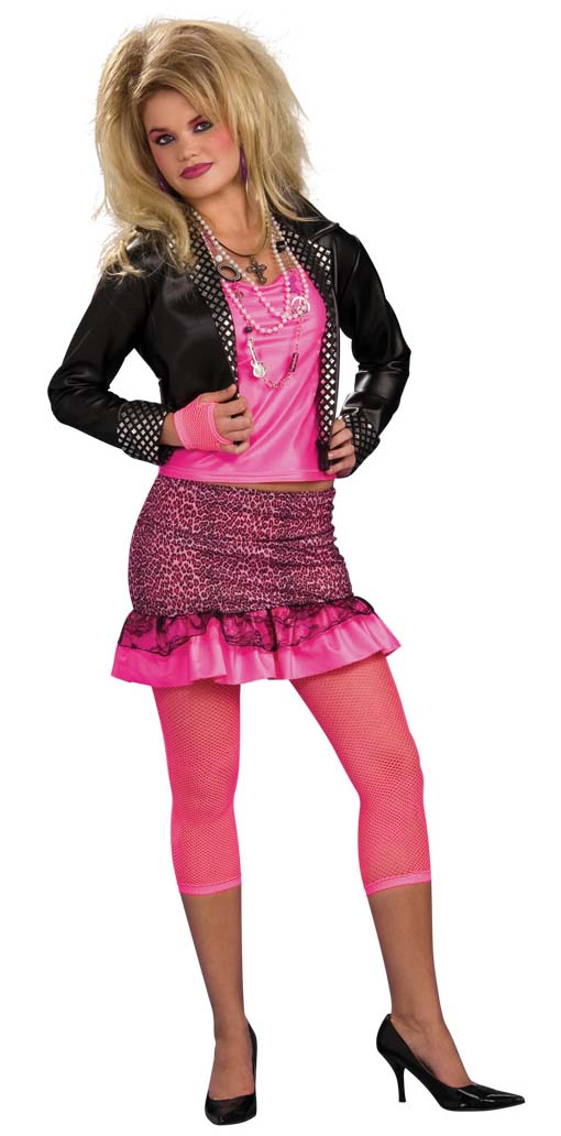 bed30ec7452 80s Groupie Costume   Womens 80s Workout Clothes Costume Plus Size ...