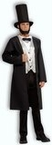 Adult Abraham Lincoln Costume, Size M/L