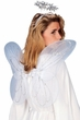 Adult Angel Wings and Tinsel Halo