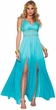 Adult Aphrodite Teal Goddess Costume