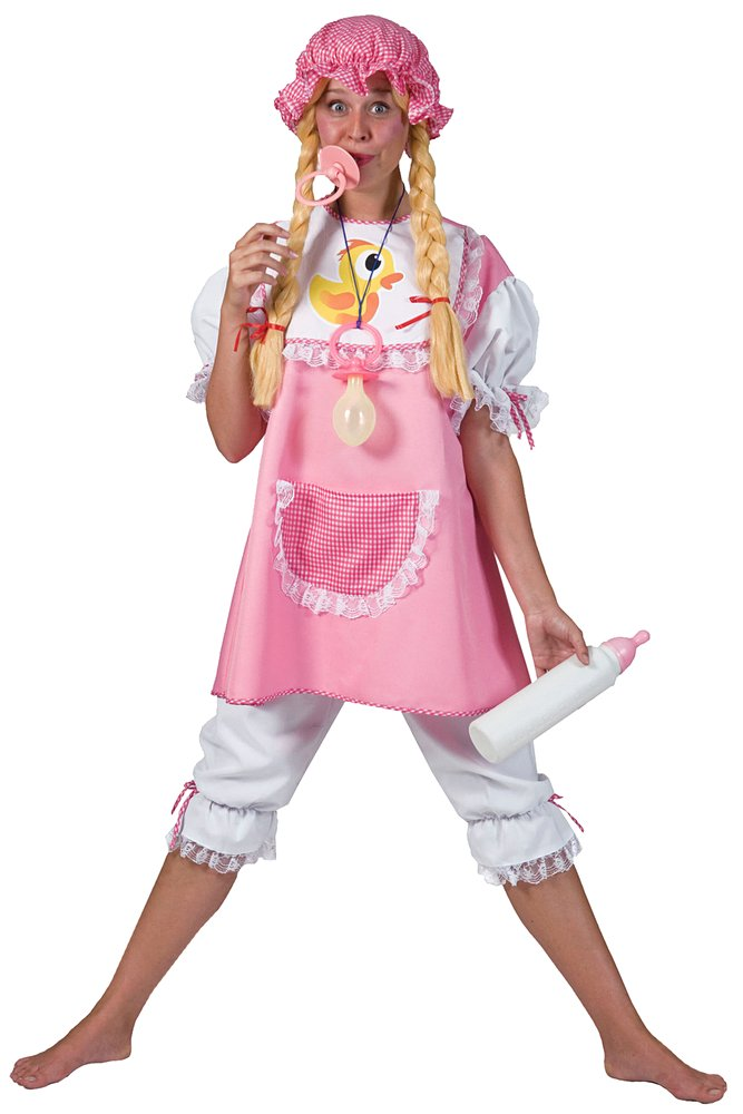 Adult Baby Girl Costume  sc 1 st  Candy Apple Costumes & Adult Baby Girl Costume - Candy Apple Costumes - Funny Costumes