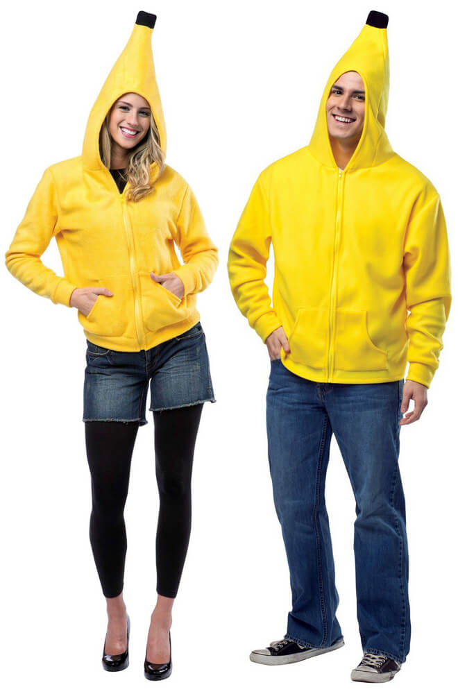 Adult Banana Hoodie Costume  sc 1 st  Candy Apple Costumes & Adult Banana Hoodie Costume - Candy Apple Costumes - Monkey Costumes