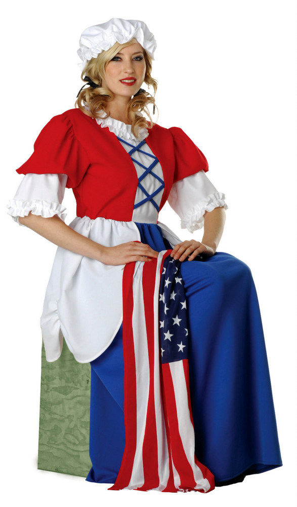 Adult Colonial Lady Betsy Ross Costume