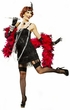 Adult Black Fifth Avenue Flapper Costume