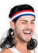 Adult Black Instant Mullet Headband