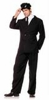 Adult Black Suit Costume
