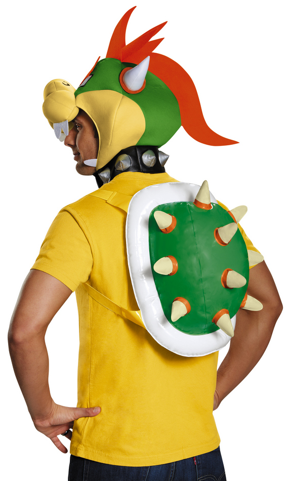 Adult Bowser Costume Kit Super Mario Brothers Costumes