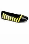 Adult Bumble Bee Ballet Flat Shoes