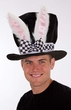 Adult Bunny Ears Top Hat