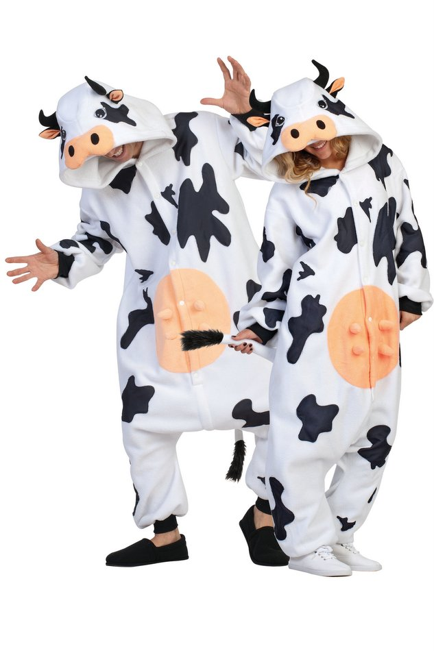 Adult Casey the Cow Funsies Costume  sc 1 st  Candy Apple Costumes & Adult Casey the Cow Funsies Costume - Candy Apple Costumes - Funny ...