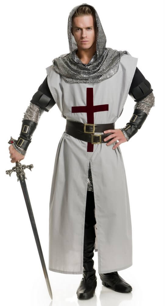 Costume adult knight