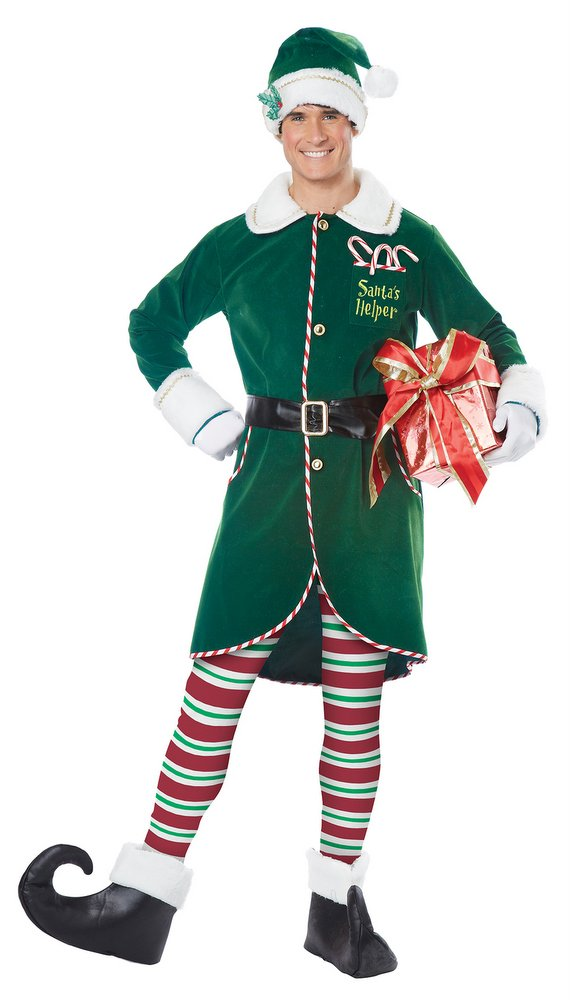 Christmas Elf Costume.Adult Christmas Workshop Elf Costume Candy Apple Costumes