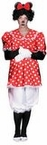 Adult Classic Polka Dot Mouse Costume