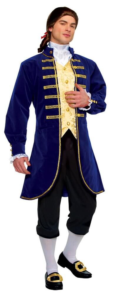 Adult Colonial Aristocrat Costume  sc 1 st  Candy Apple Costumes & Adult Colonial Aristocrat Costume - Candy Apple Costumes - Deluxe ...