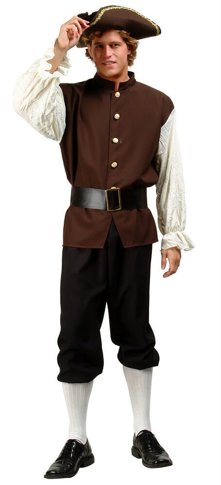 Adult Colonial Costume