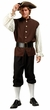Adult Colonial Man Costume, Size M/L
