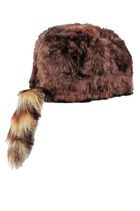 e3c6fef1 Adult 'Coon Skin Hat - Candy Apple Costumes - Wild West Costumes