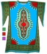 Adult Dashiki Dress - Assorted Colors and Sizes