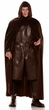Adult Deluxe Hooded Brown Cape