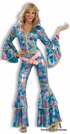 Adult Disco Mama Sexy 70's Costume