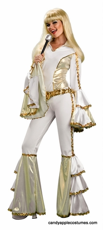 Adult Disco Queen Costume