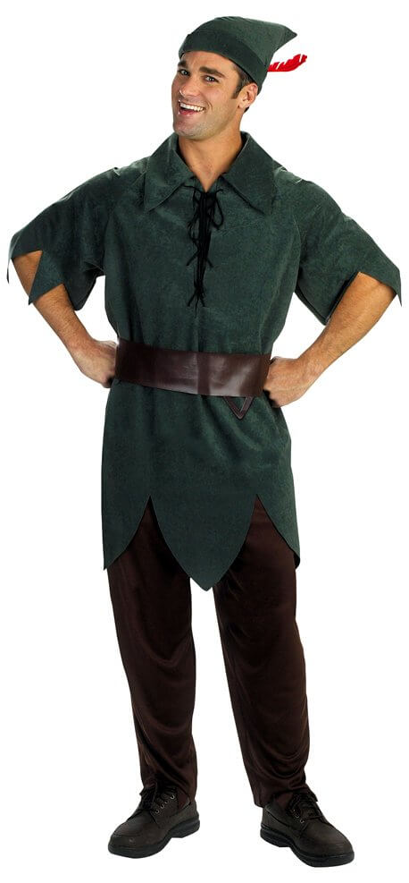Adult peter pan outfit