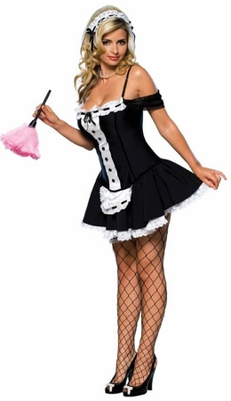Adult Dust Bunny Sexy French Maid Costume - Candy Apple ...