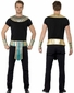 Adult Egyptian Collar, Cuffs, & Belt Costume Kit