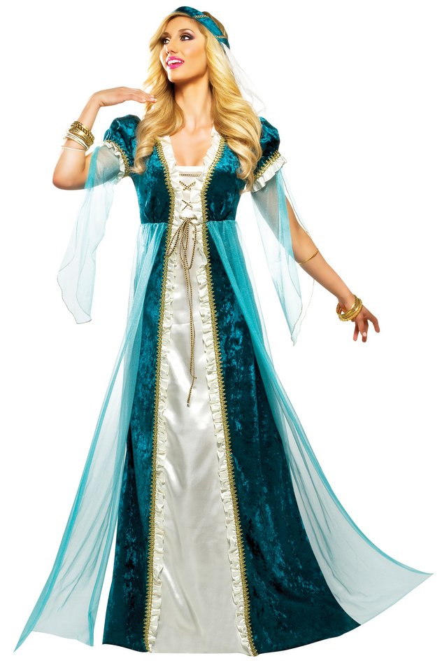 efe22b2ccb7 Adult Emerald Juliet Renaissance Costume - Candy Apple Costumes ...