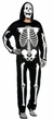 Adult EVA Skeleton Costume With Mask, Size M/L
