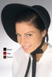 Adult Felt Victorian Bonnet - More Colors