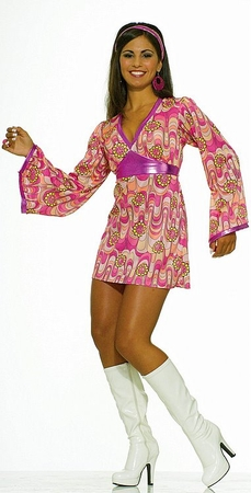 Adult Flower Power Babe Costume