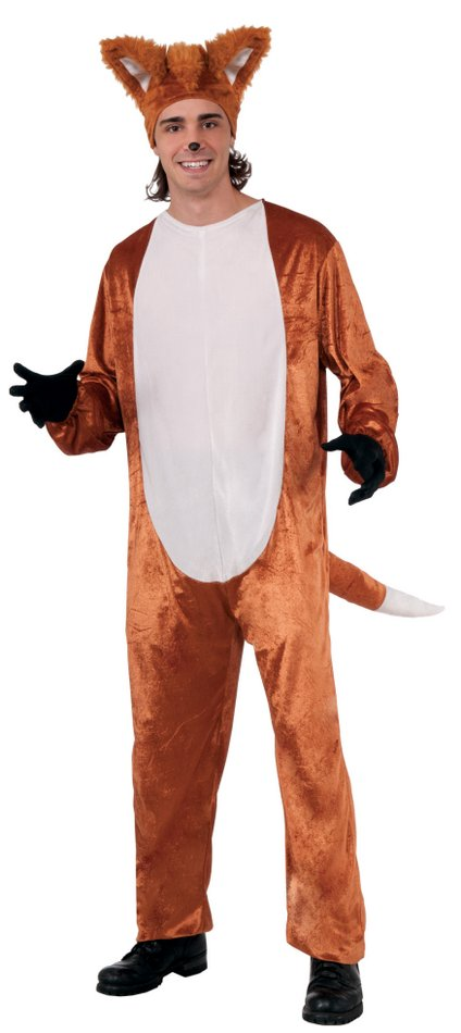 Adult Fox Costume  sc 1 st  Candy Apple Costumes & Adult Fox Costume - Animal Costumes - Deluxe Costumes