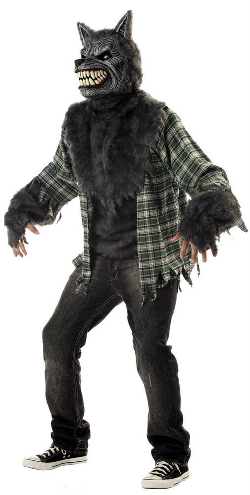Adult Full Moon Madness Werewolf Costume  sc 1 st  Candy Apple Costumes : deluxe werewolf costume  - Germanpascual.Com