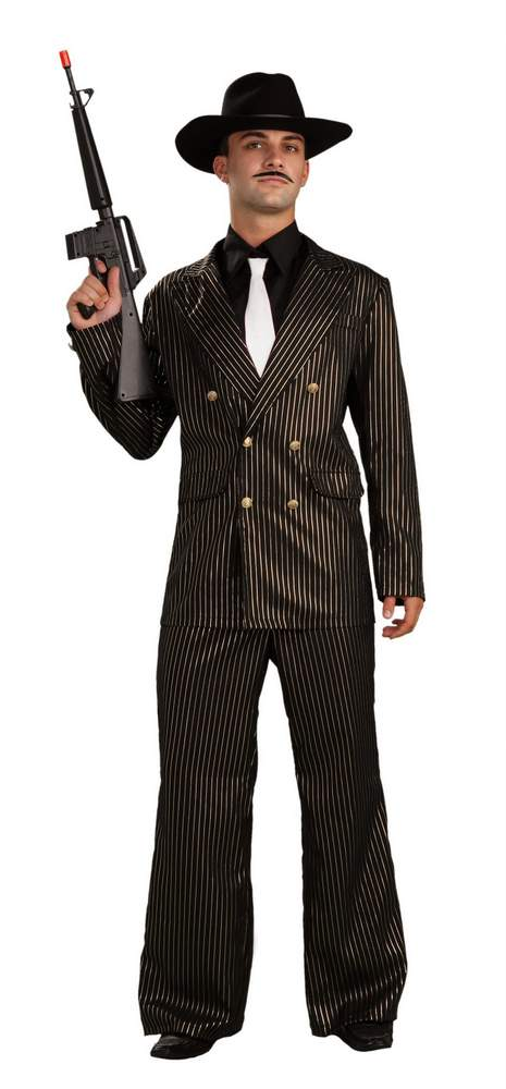 Adult Gangster Gold Pinstriped Suit Costume  sc 1 st  Candy Apple Costumes & Adult Gangster Gold Pinstriped Suit Costume - Candy Apple Costumes ...