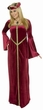 Adult Guinevere Costume - Burgundy or Green