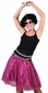 Adult Hot Pink Sequin Disco Skirt