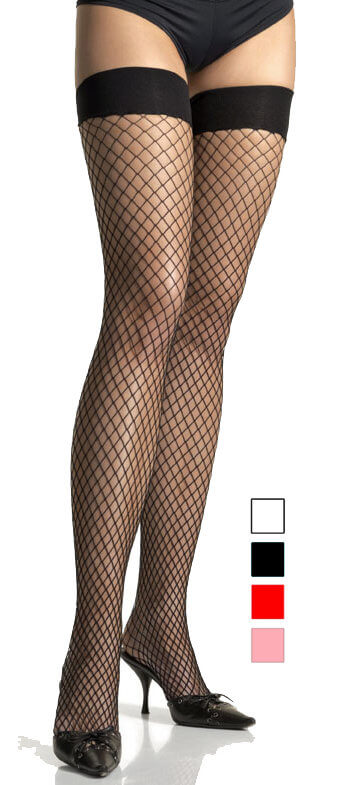 b7f913cf7 Adult Industrial Net Thigh Highs - More Colors - Candy Apple ...