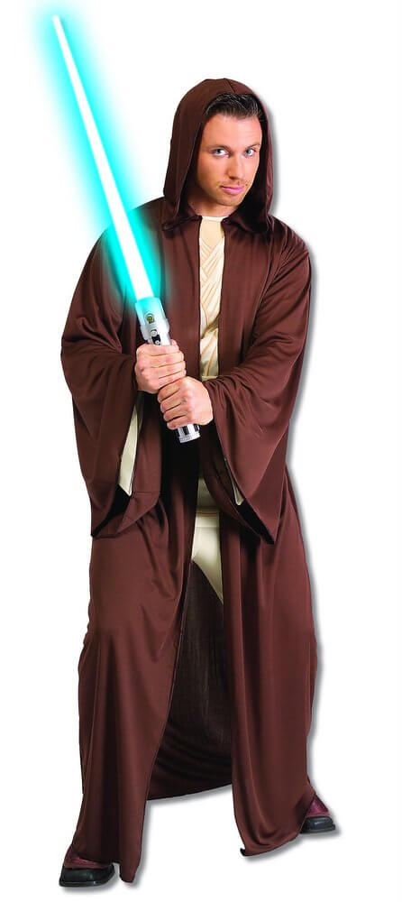 Adult Jedi Robe - Star Wars  sc 1 st  Candy Apple Costumes & Adult Jedi Robe - Star Wars - Candy Apple Costumes - Funny Costumes