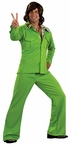Adult Lime Green Leisure Suit Costume