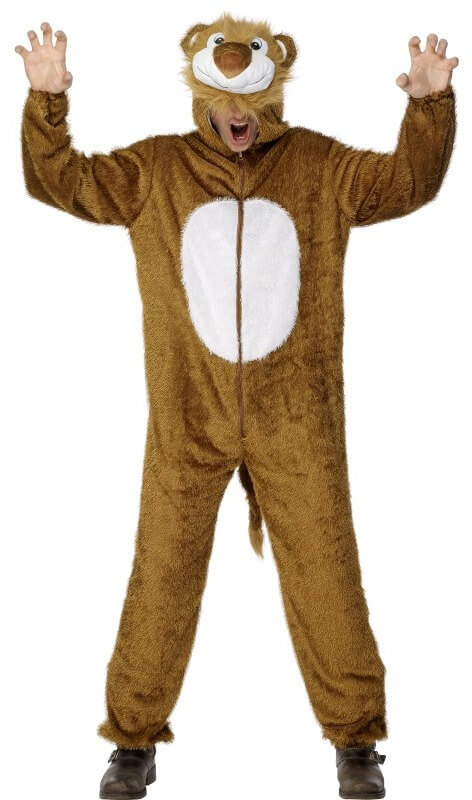 Adult Male Lion Costume