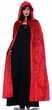 Adult Long Red Hooded Cloak