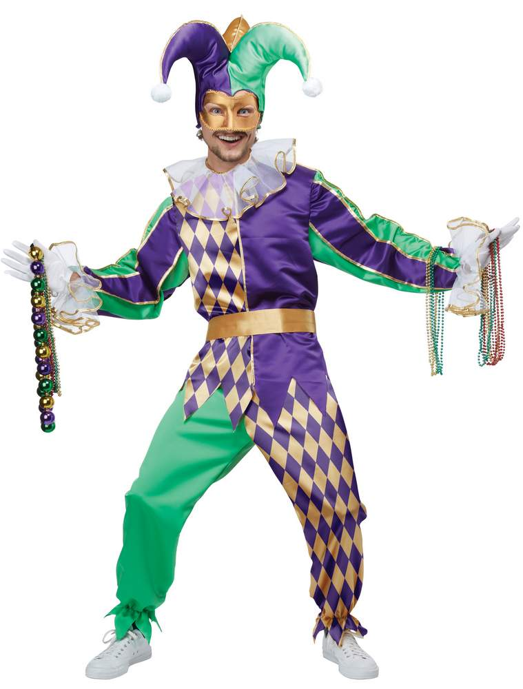 Adult Mardi Gras Jester Costume - Candy Apple Costumes - Browse All Womenu0026#39;s Costumes