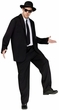 Adult Men's Black Suit Costume