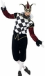 Adult Men's Gothic Venetian Harlequin Costume