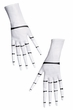 Adult Nightmare Before Christmas Jack Skellington Gloves
