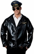 Adult Pilot Jacket Costume, Size M/L