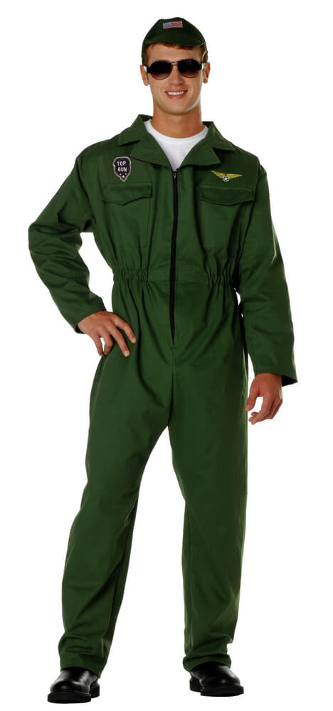 a4e49c0f0bcb Adult Pilot Jumpsuit Costume - Candy Apple Costumes - Top Gun ...