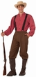 Adult Pioneer Man Costume, Size M/L