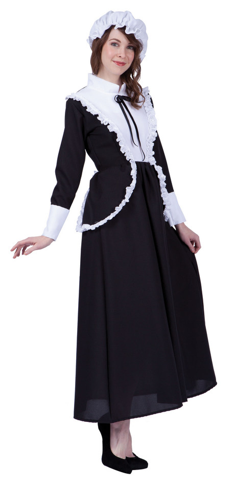 Adult Proper Pilgrim Lady Costume  sc 1 st  Candy Apple Costumes & Adult Proper Pilgrim Lady Costume - Candy Apple Costumes - See All ...